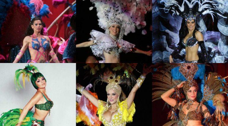 Ellas han sido 'Aventurera' en teatro. Fotos: Archivo / Internet