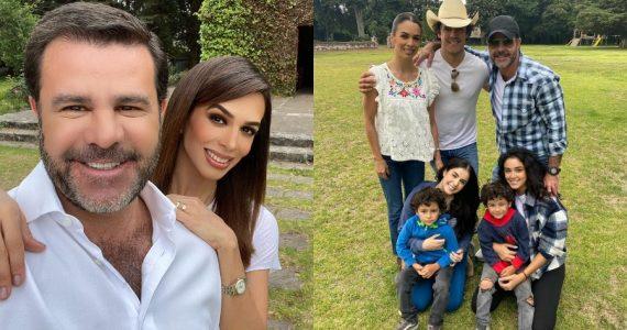 Eduardo Capetillo, Biby Gaytán e hijos, tendrán reality show. Fotos: INstagram
