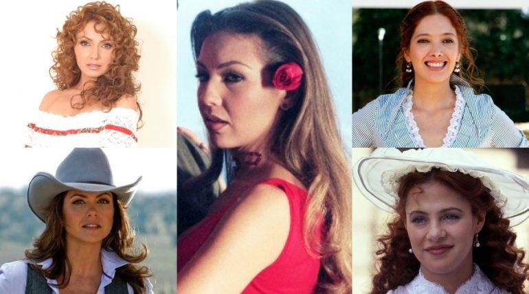 ¿A quién de ellas cinco te gustaría ver de nuevo en las telenovelas? Fotos: Archivo