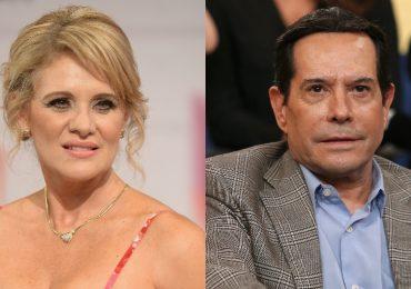 Érika Buenfil lloró en vivo frente a Juan José Origel. Fotos: Getty Images