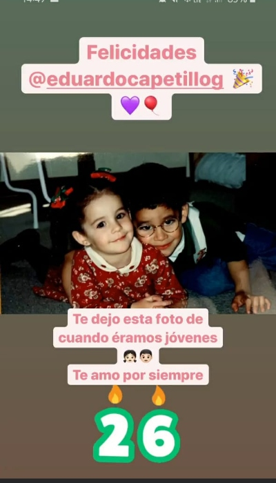 Captura de pantalla Instagram @paucapetillog
