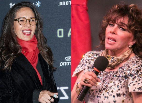 Foto de Verónica Castro y Yolanda Andrade juntas en Europa confirmaría que sí fueron pareja. Fotos: Getty Images