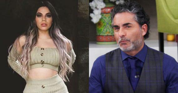 Lizbeth Rodríguez mete en problemas al 'Negro' Araiza con su novia. Fotos: Instagram / Archivo