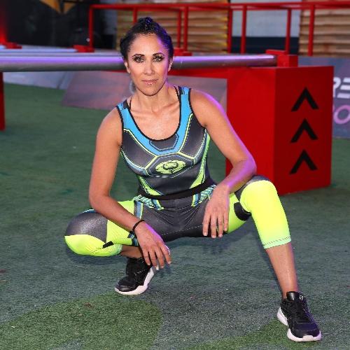 Mónica Noguera, invitada VIP en Guerreros 2020, equipo Leones. Foto: José Luis Ramos