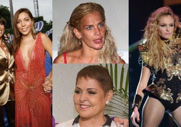 Oportunistas que sólo aprovecharon la fama y fortuna de estas estrellas. Fotos: Getty Images
