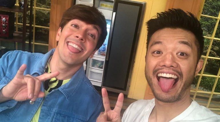 Roger y el 'Chino' de Venga la alegría, ¿son pareja? Foto: Instagram