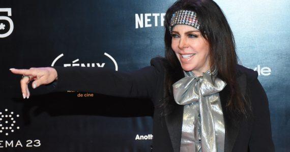 Verónica Castro da réplica sobre la polémica golpiza de Cristian. Foto: Getty Images