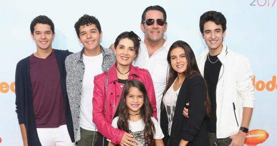 ¡Detallazo de Mayrín Villanueva en el cumple 20 de sus hijastros! Foto: Getty Images