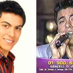 Antes y después de Carlos Rivera. Foto: Archivo / Youtube