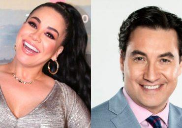 """""""Lucho"""" Borrego le quitó la máscara a Carolina Sandoval y sacó sus trapos sucios. Foto: Archivo"""
