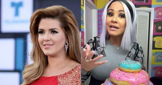 """Alicia Machado se burla del despido de """"La Venenosa"""". Foto: Archivo"""