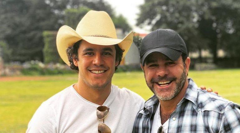 Eduardo Capetillo regresa a la música junto con su hijo. Foto: Instagram