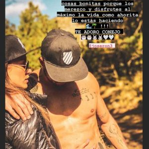 Jessica Díaz le dedicó un mensaje a José Ron. Foto: Instagram
