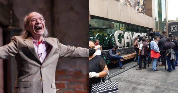 """Así transcurre el último adiós a """"El Loco"""" Valdés ¡FOTOS y detalles! Foto: Archivo / Fernando Martínez"""