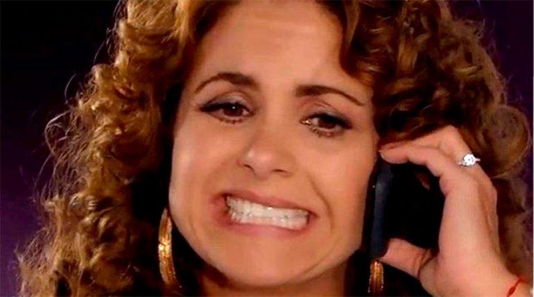 Lucero recordó repugnantes momentos cuando grababa una telenovela