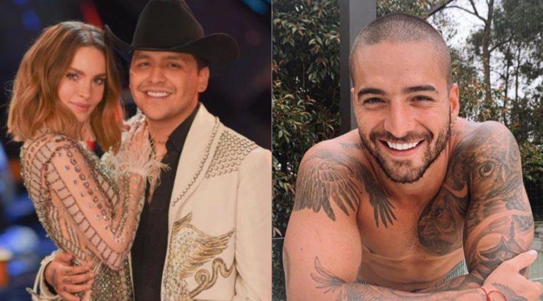 """Maluma habló del dueto con Christian Nodal: """"Belinda no lo dejó"""""""