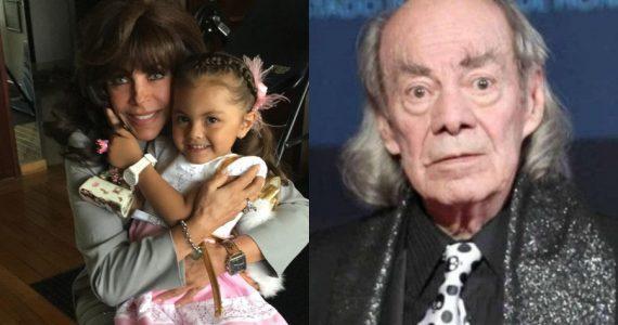 """La despedida de la pequeña hija de Cristian Castro a su abuelo """"El Loco"""" Valdés. Foto: Instagram /Archivo"""