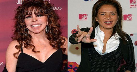 Yolanda Andrade se acercó de nuevo a Verónica Castro. Foto: Archivo