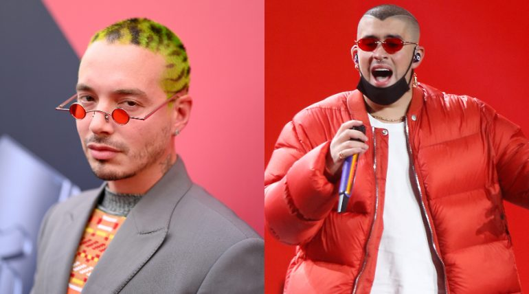 J Balvin y Bad Bunny dominan las nominaciones a los Latin Grammy 2020 (Lista completa). Foto: Getty Images