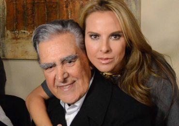 Kate del Castillo le da chamba a su papá, don Eric. Foto: Archivo