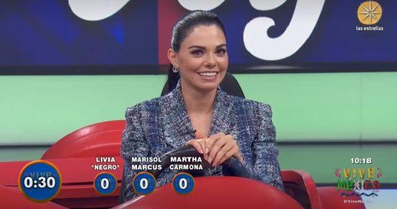 Livia Brito reaparece en programa HOY tras escándalo. Foto: Captura Las Estrellas