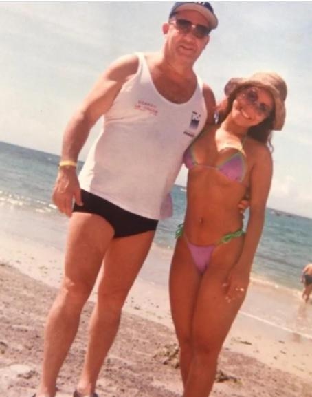 Carolina Sandoval con cintura de impacto. Foto: Instagram