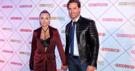 Sebastián Rulli sorprendió a Angelique Boyer en su novela. Foto: Getty Images