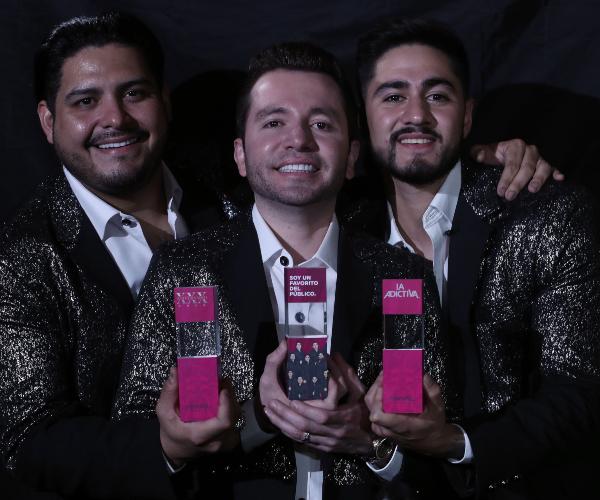 Banda La Adictiva fue reconocida por su trayectoria artística. Foto: José Luis Ramos