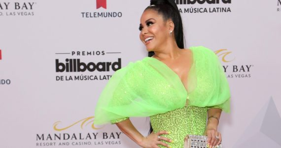 "Carolina Sandoval le busca ""padrinos"" a su celulitis ¡VIDEO!. Foto: Getty Images"