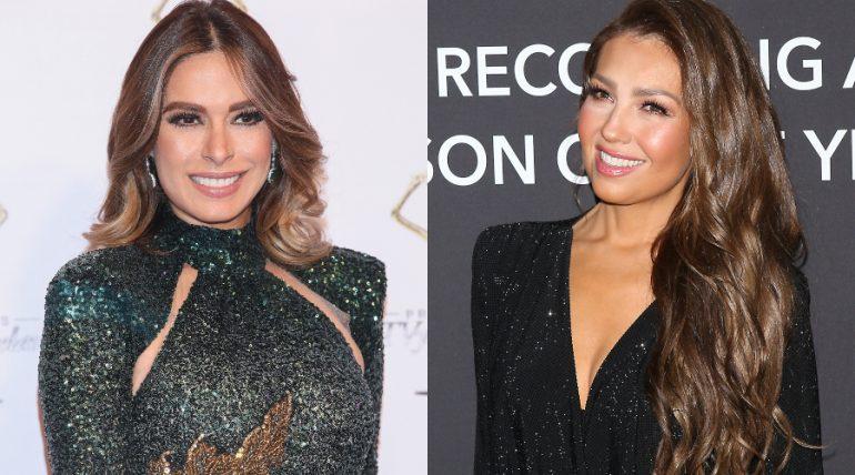 Galilea montijo revela que tiene un sueño erótico con Thalía. Foto: Getty Images