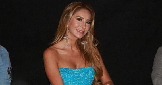 Geraldine Bazán ruega que no la involucren con Gabriel Soto. Foto: Getty Images
