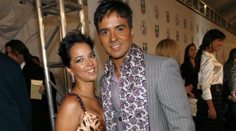 El viral gesto de Adamari López a su ex Luis Fonsi. Foto; Getty Images