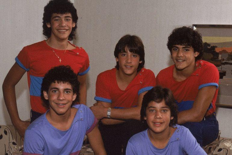 los primeros integrantes de menudo a principios de 1980