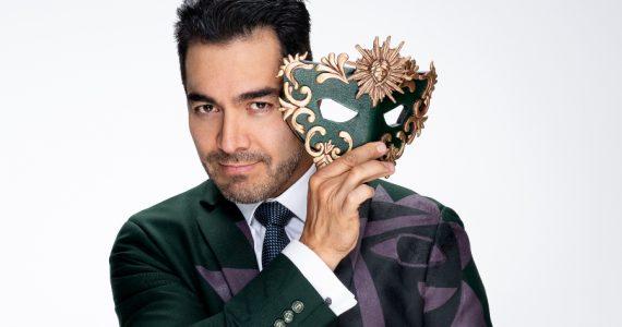 Omar Chaparro adelgazó 9 kilos para una película. Foto: Televisa