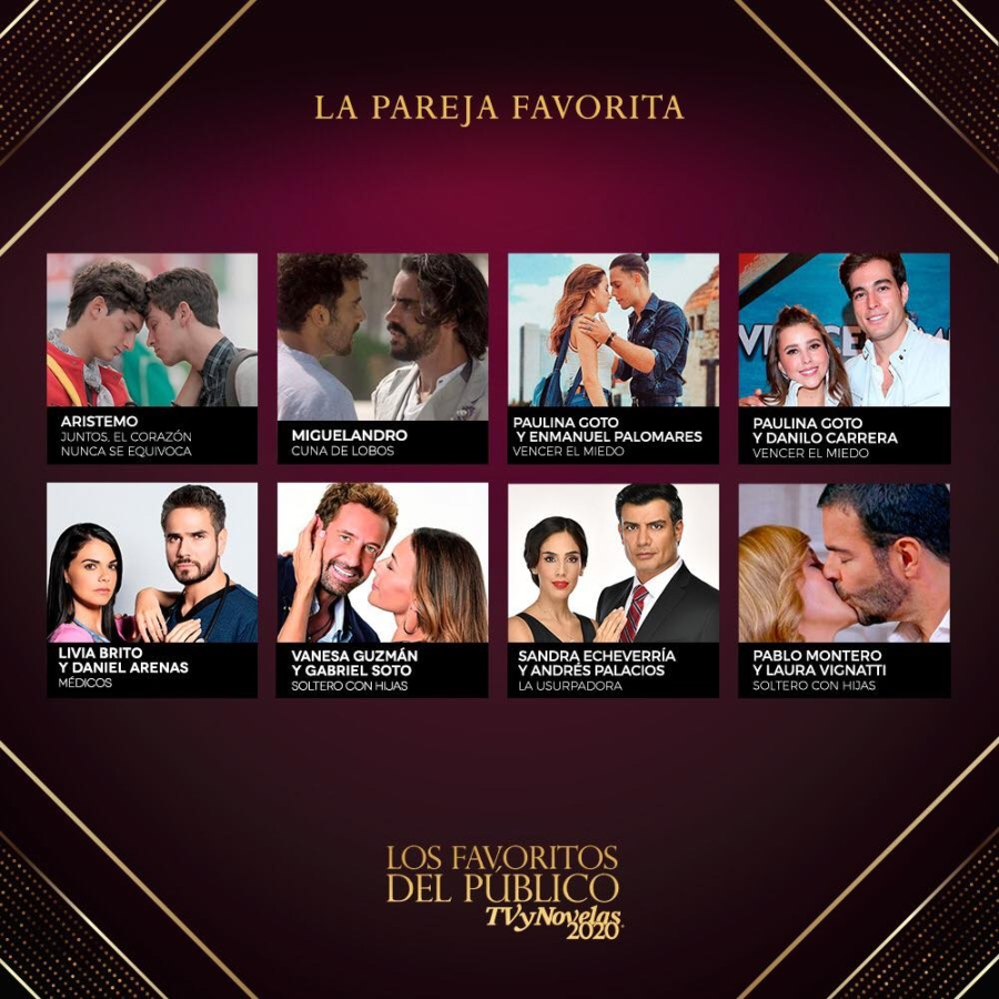 premios tvynovelas votar pareja favorita