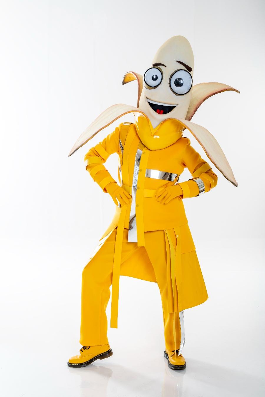 banana es uno de los personajes de quien es la mascara 2020