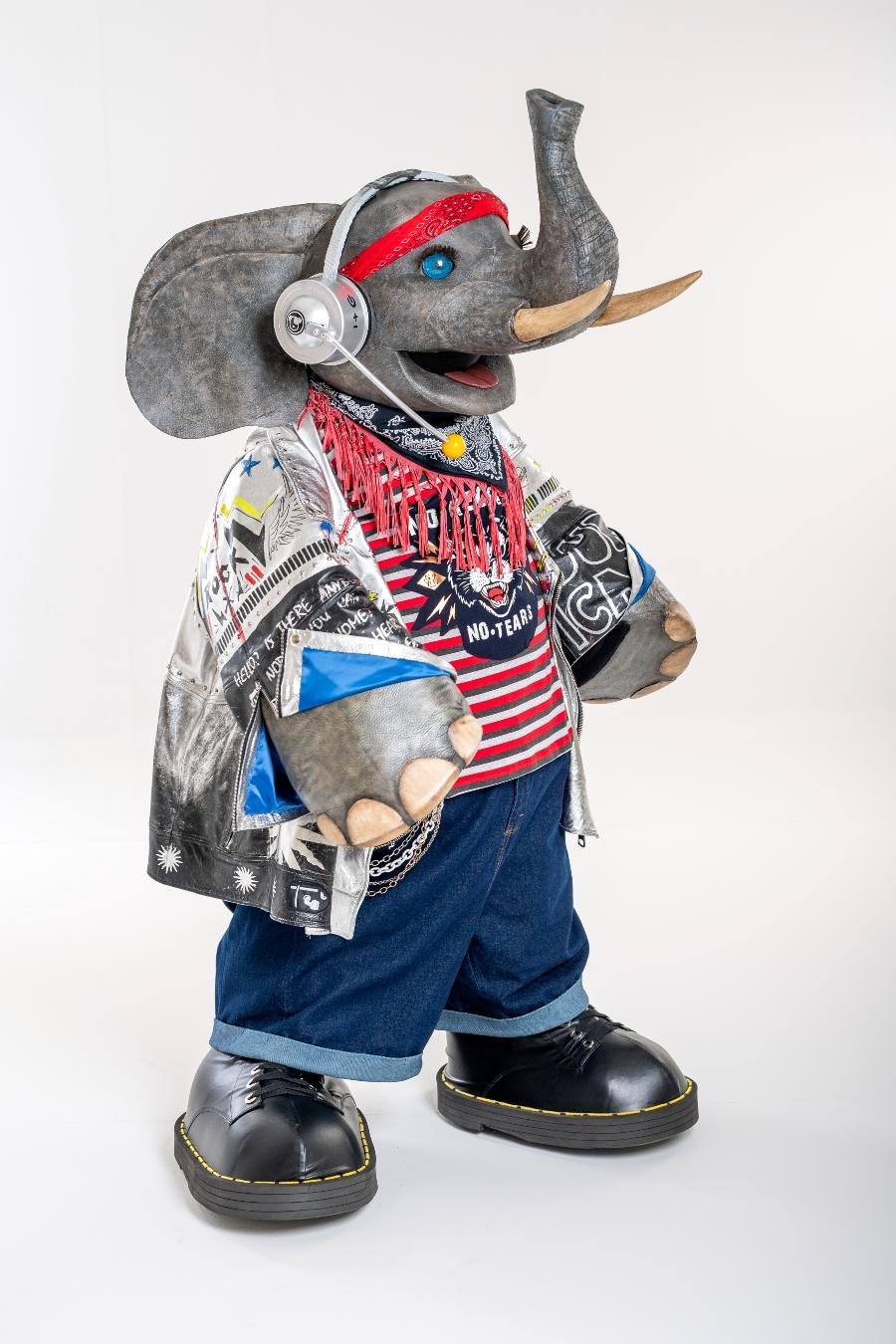 elefante es un nuevo integrante de quien es la mascara 2020