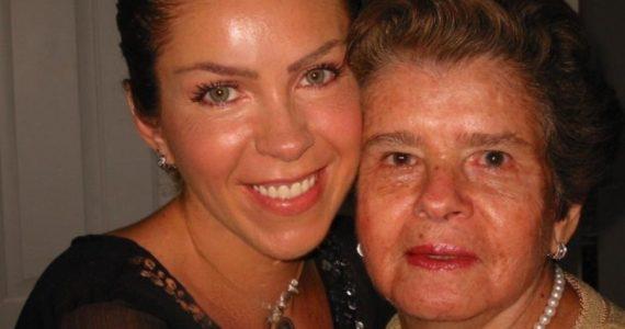 Rocío Sánchez Azuara sufre muerte de su madre. Foto: Archivo