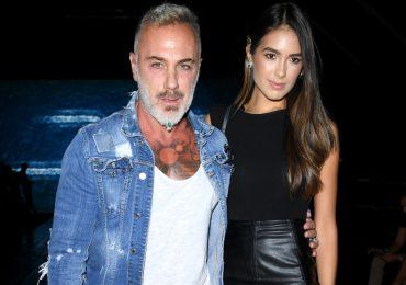 El millonario Gianluca Vacchi y Sharon Fonseca se convirtieron en padres de una niña. Foto: Getty Images