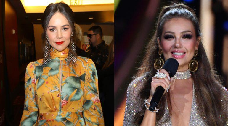 Camila Sodi asombra cantando idéntico a Thalía ¡Es su clon!. Foto: Getty Images