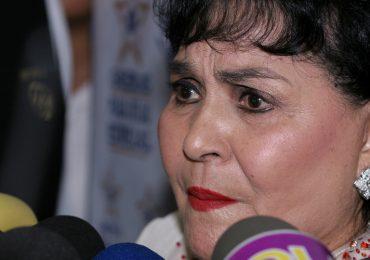 Carmen Salinas sufre la muerte de un hermano. Foto: Getty Images