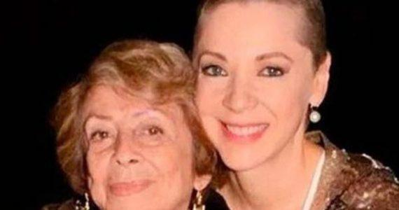 Murió la mama de Edith González. Foto: Archivo