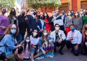 Comenzaron las grabaciones de ¿Qué le pasa a mi familia? en Guanajuato. Foto: Cortesía Televisa