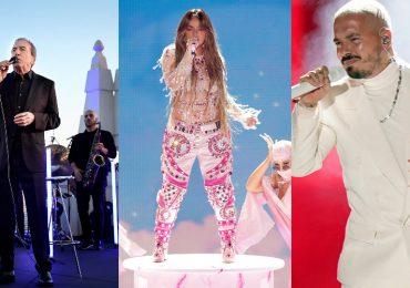 Los mejores shows musicales de los Latin Grammys 2020 en fotos. Foto: Getty Images