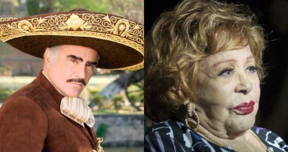 Vida de Vicente Fernández y Silvia Pinal corren peligro, asegura Mhoni Vidente, Foto: Archivo
