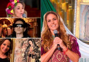 Famosos fiel Virgen Guadalupe