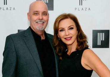 Laura Flores y su marido
