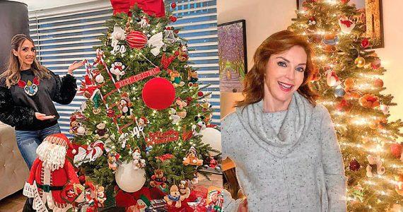 Famosos en Navidad 2020