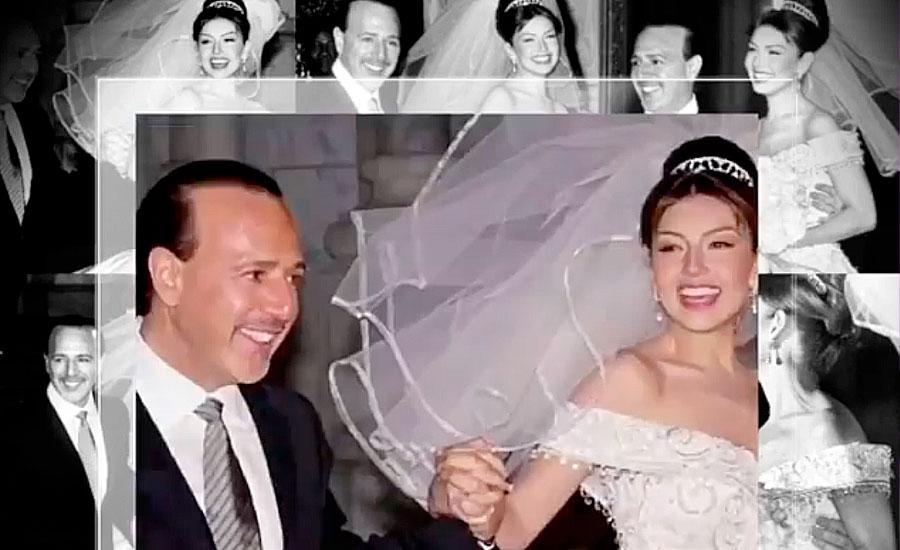Thalía celebra 20 años de casada