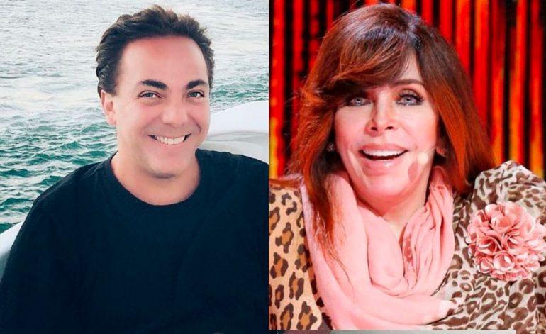 Verónica Castro consiente a Cristian